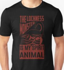 Loch Ness Monster Spirit Animal T-Shirt