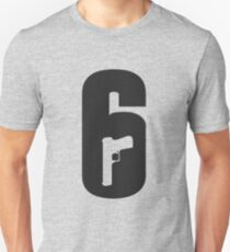 R6S - Rainbow Six logo Unisex T-Shirt