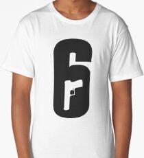 R6S - Rainbow Six logo Long T-Shirt