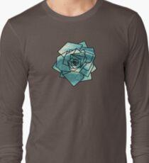 Geometrics: Rose (Sampled Eye) Geometry Long Sleeve T-Shirt