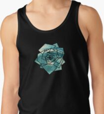 Geometrics: Rose (Sampled Eye) Geometry Tank Top