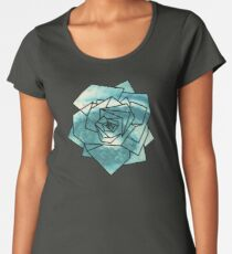 Geometrics: Rose (Sampled Eye) Geometry Women's Premium T-Shirt