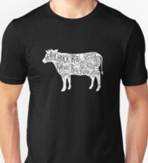 Beef Cuts Chart Unisex T-Shirt