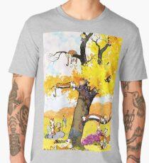 Calvin and Hobbes Mural Men's Premium T-Shirt