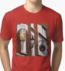 Sandgate, Whitby, Yorkshire Tri-blend T-Shirt