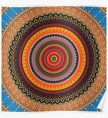 Daylight Mandala Poster