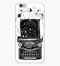 Typewriter. Symbol of imagination, literature iPhone Case