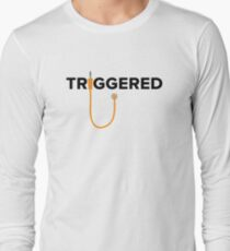 Triggered - modular (orange) Long Sleeve T-Shirt