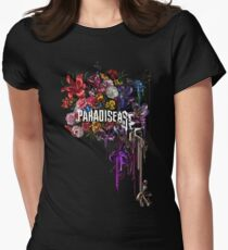 paradise corrupt_ Women's Fitted T-Shirt