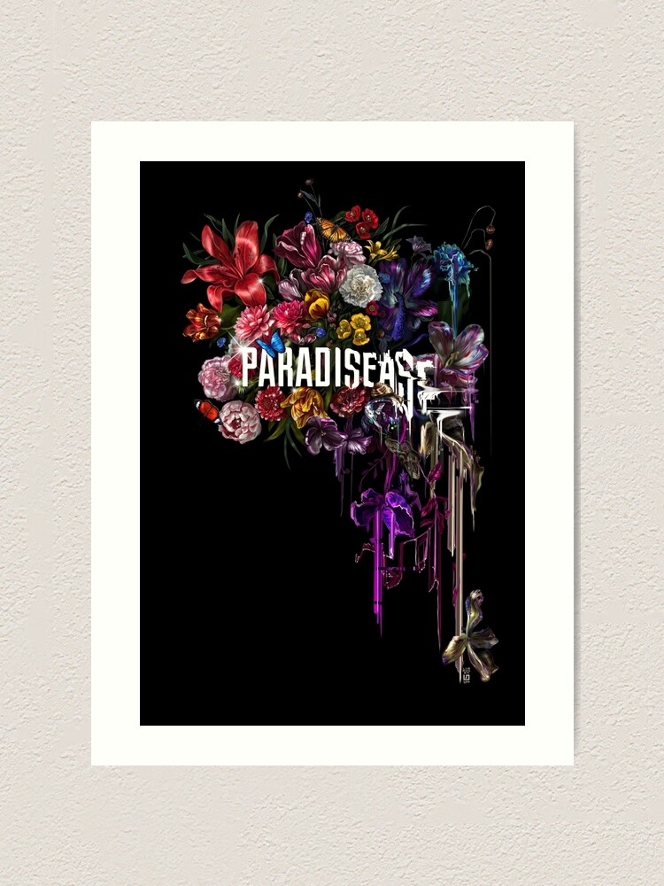Alternate view of paradise corrupt_ Art Print