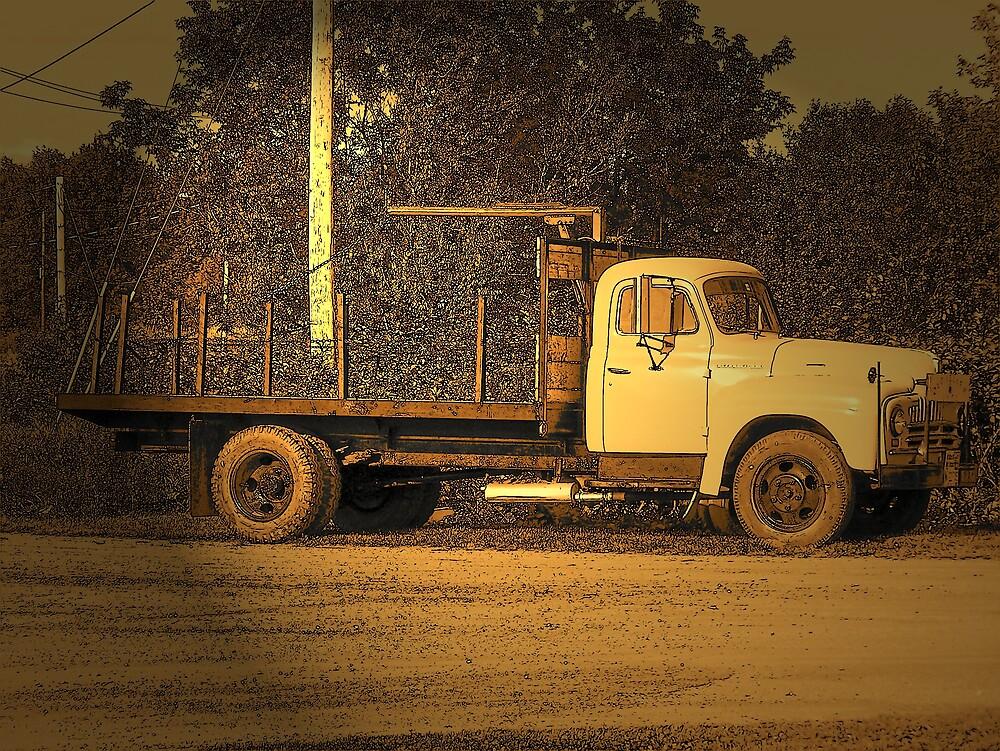 Potato Truck by Gene Cyr