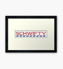 Schwifty Tesco Mashup Framed Print