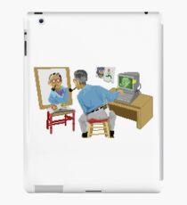Pixel Norman Rockwell iPad Case/Skin