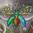 Jewel Stag Beetle by TeaToucan