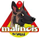 Malinois On Board by DoggyGraphics