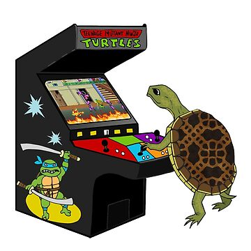 Arcade Ninja Turtle by Michowl