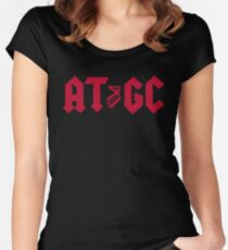 DNA AT GC Molecular Biology Women's Fitted Scoop T-Shirt