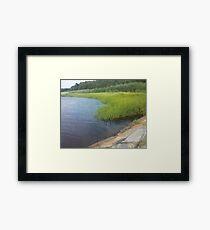Ocean Coast Dighton, MA Framed Print