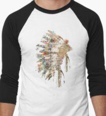 Native Headdress Men's Baseball ¾ T-Shirt