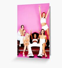 SPICE 5 Greeting Card