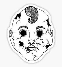 Porcelain Face  Sticker