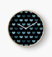 Cute Hearts  Clock