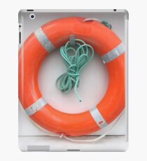 Orange Life Ring iPad Case/Skin