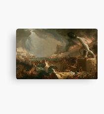 Destruction from The Course of Empire 1836 Thomas Cole Canvas Print