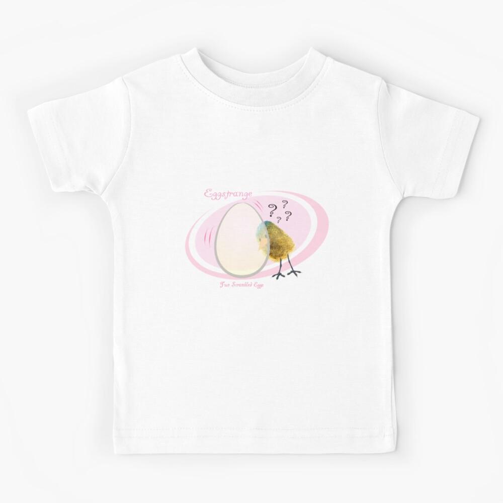 EGGstrange... Kids T-Shirt