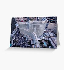 Aria Hotel Campus, Las Vegas, Nevada, USA Greeting Card