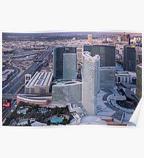 Aria Hotel Campus, Las Vegas, Nevada, USA Poster