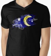 Painted moon in the night sky T-Shirt