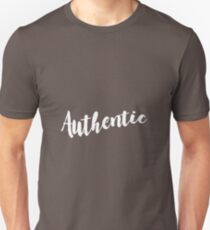 authentic pattern black and white T-Shirt