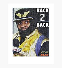 BEAST MODE BACK 2 BACK Photographic Print