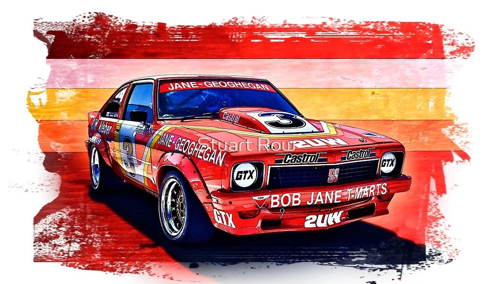 Bob Jane - Leo Geoghegan A9X Torana by Stuart Row