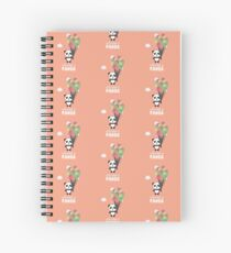 Cute like a Panda R6rkb Spiral Notebook