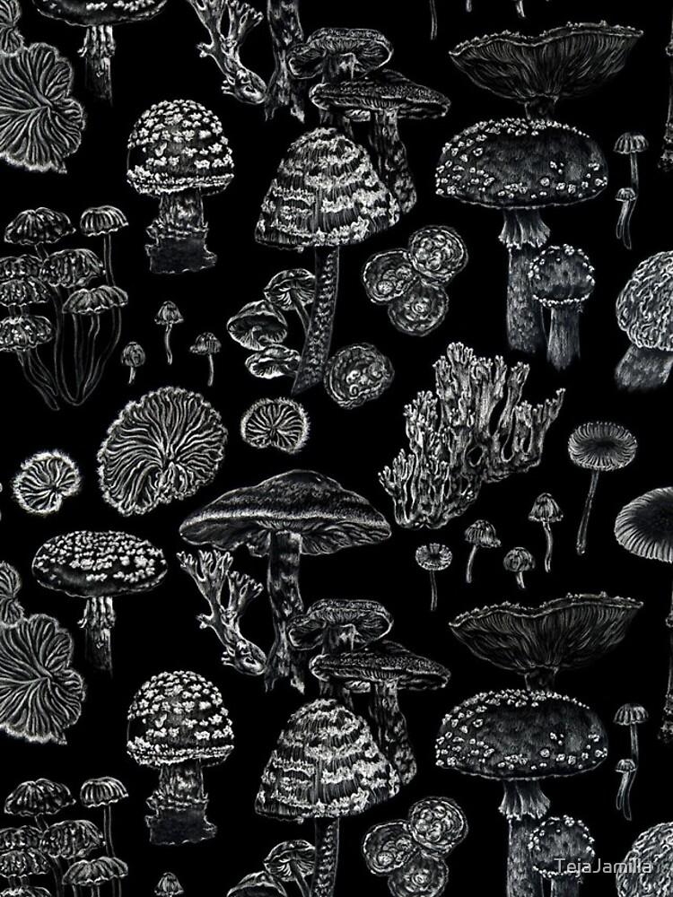 Mycology in Black by TejaJamilla