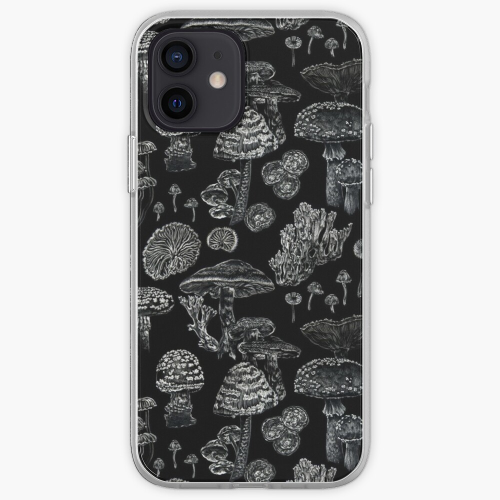 Mycology in Black iPhone Case & Cover