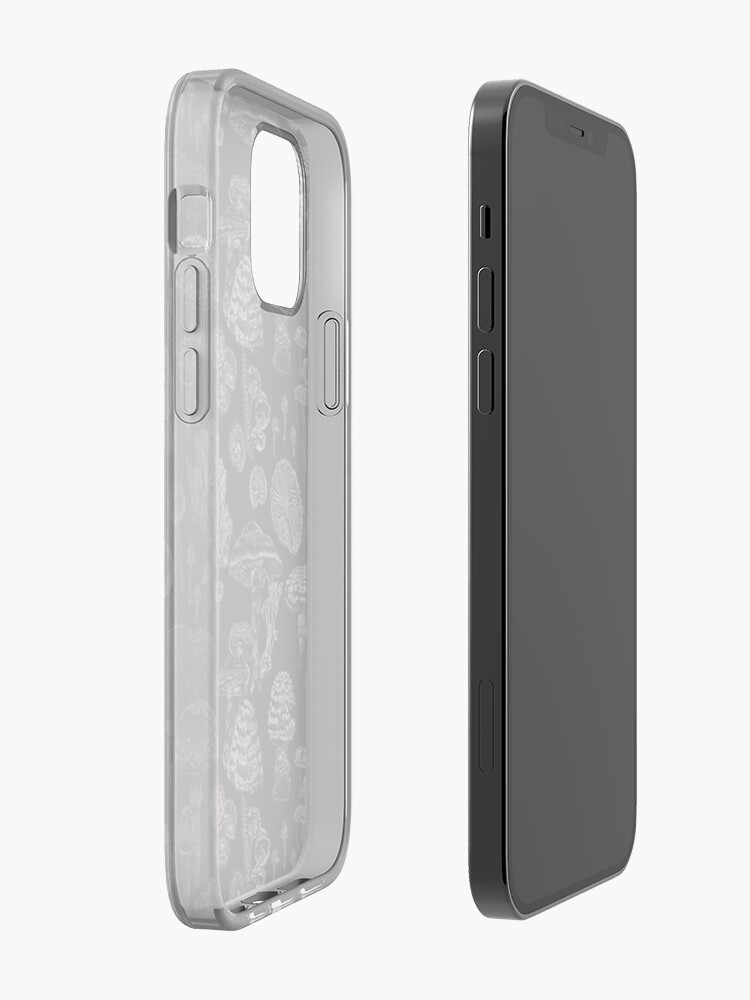 Alternate view of Mycology in Black iPhone Case & Cover