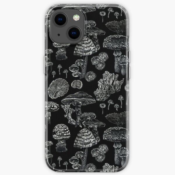 Mycology in Black iPhone Soft Case