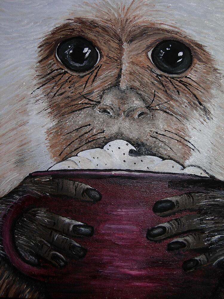 Capuchin-O by Sharon Supplee