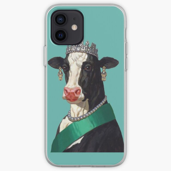 Cow Queen iPhone Soft Case