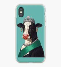 Cow Queen iPhone Case