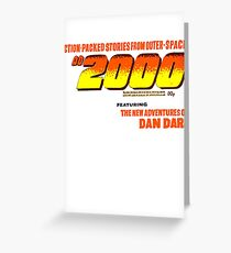 AD 2000 Greeting Card