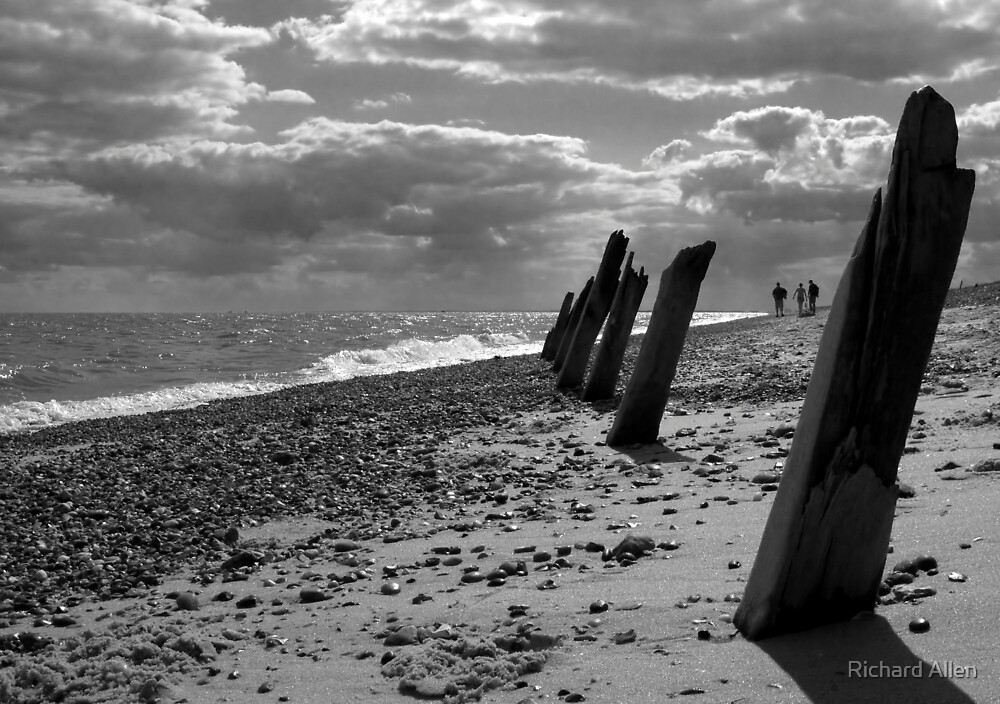 Beach Groynes by Lea Valley Photographic