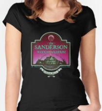 Sanderson Witch Museum Women's Fitted Scoop T-Shirt