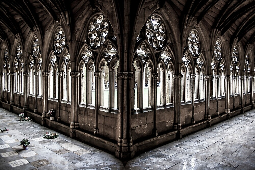 Cloisters by Ian Richardson