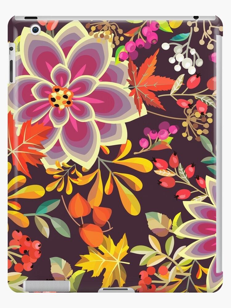 Autumn Flowers Pattern 6 by stylebytara