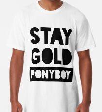 Bleib Gold Ponyboy Longshirt