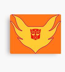 Hot Rod Flame Logo Canvas Print